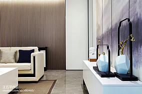 精选面积120平别墅客厅中式装修设计效果图片欣赏别墅豪宅中式现代家装装修案例效果图