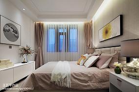 热门112平米中式别墅卧室效果图片欣赏别墅豪宅中式现代家装装修案例效果图