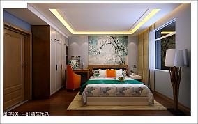 简美风格房间设计