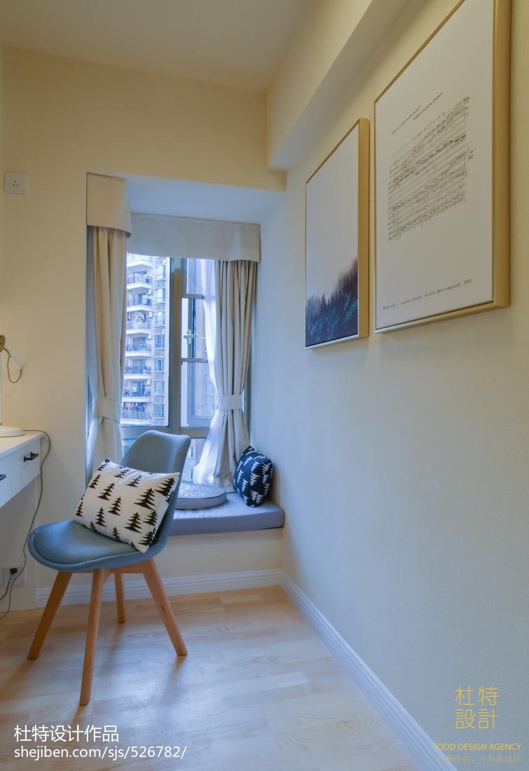 简单北欧窗台设计图卧室北欧极简卧室设计图片赏析