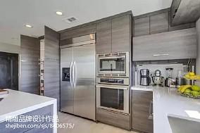 精美121平米混搭复式厨房装修实景图片大全