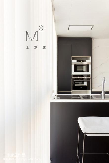 精选三居厨房现代装修实景图片欣赏