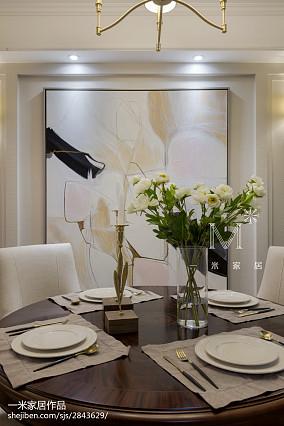 精美109平方三居餐厅现代设计效果图