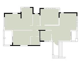 轻奢131平美式四居布置图四居及以上美式经典家装装修案例效果图