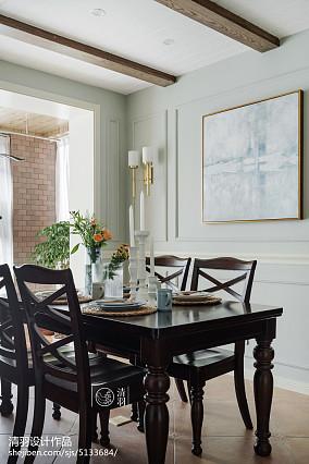 典雅157平美式四居餐厅案例图四居及以上美式经典家装装修案例效果图