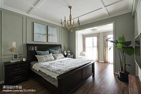浪漫119平美式四居卧室设计效果图四居及以上美式经典家装装修案例效果图