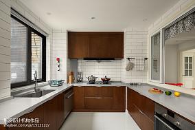 热门三居厨房北欧装修实景图片