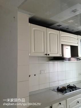 轻奢111平混搭三居厨房装修美图