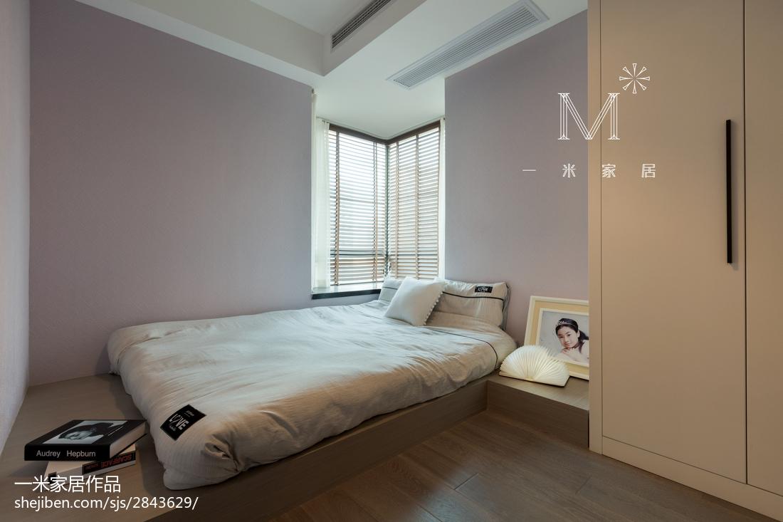 精致73平混搭三居卧室装饰图片卧室潮流混搭卧室设计图片赏析