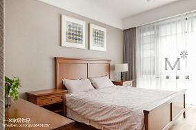 质朴118平现代三居卧室效果图