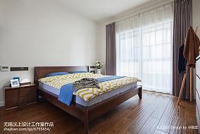 精美大小107平现代三居卧室效果图片大全