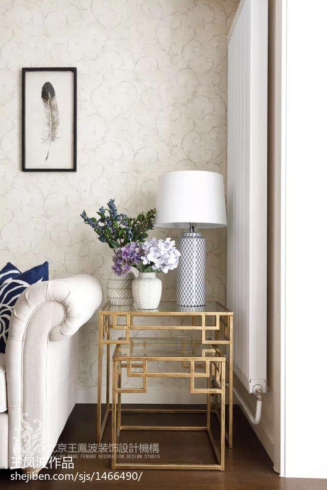 明亮39平美式小户型客厅实拍图客厅
