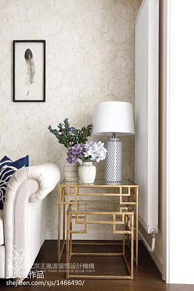 明亮39平美式小户型客厅实拍图一居美式经典家装装修案例效果图
