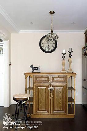 热门79平米美式小户型客厅装修欣赏图片