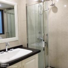 质朴98平现代四居卫生间装饰图片