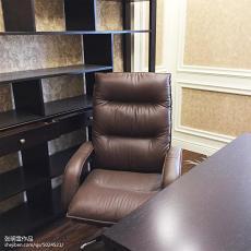 质朴117平现代四居书房实景图片