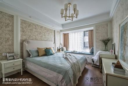 浪漫154平混搭四居卧室装修图卧室