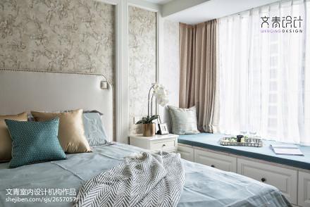 华丽145平混搭四居卧室装修案例卧室