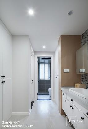 四居北欧卫浴设计图片四居及以上北欧极简家装装修案例效果图