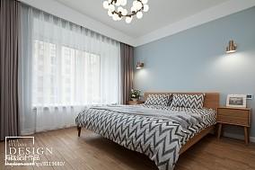四居北欧主卧设计图四居及以上北欧极简家装装修案例效果图