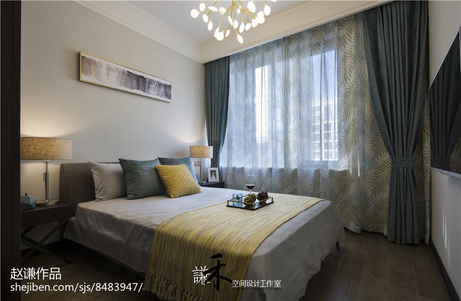 四居卧室现代装修图片