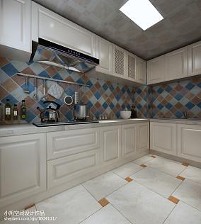 精选面积87平地中海二居厨房装修设计效果图