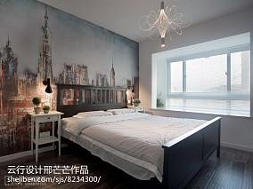 热门面积100平三居卧室装修设计效果图片大全