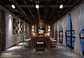 文艺范70平方米两室一厅效果图