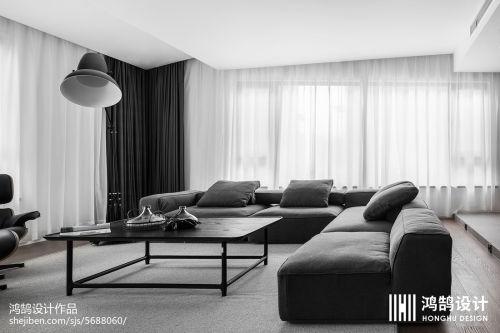 热门面积78平现代二居客厅装修欣赏图片大全客厅沙发4图