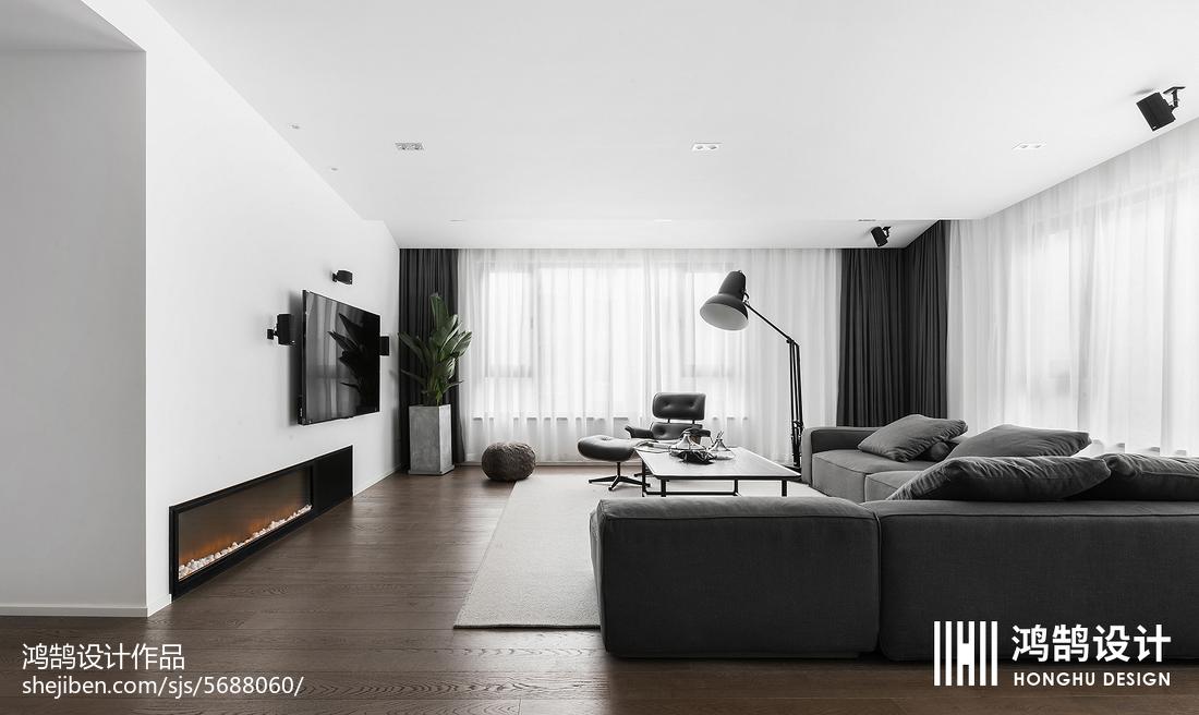 精选面积72平现代二居客厅实景图片大全客厅