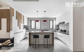 2018现代二居厨房装修效果图片大全二居现代简约家装装修案例效果图