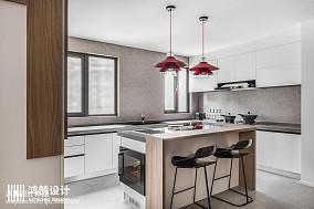 典雅58平现代二居装饰美图二居现代简约家装装修案例效果图