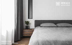 大小89平现代二居卧室欣赏图片大全二居现代简约家装装修案例效果图