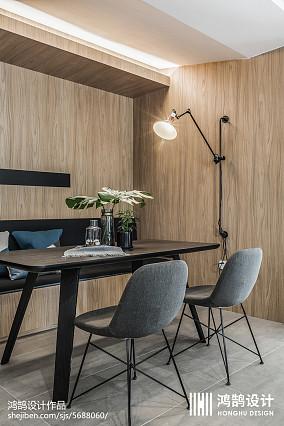 精选78平米二居餐厅现代装修效果图