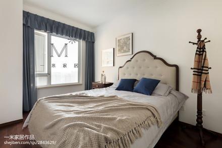 2018二居卧室简欧装修设计效果图片大全