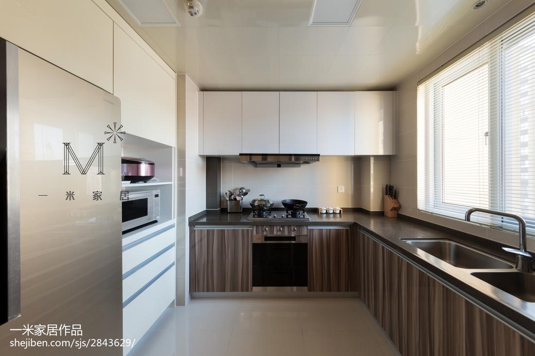 精美简欧二居厨房装修图片大全设计图片赏析