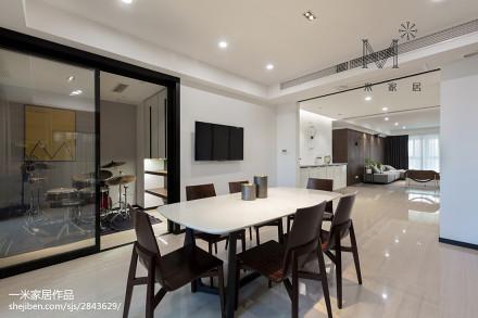 精美88平米二居餐厅现代设计效果图