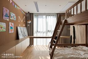 热门北欧二居儿童房效果图片大全121-150m²二居家装装修案例效果图