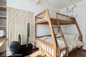 精选面积74平北欧二居儿童房装修图片欣赏121-150m²二居家装装修案例效果图