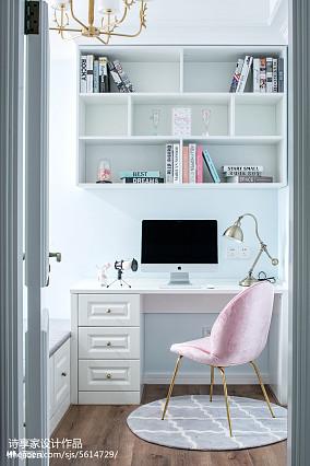 简美书房设计图片
