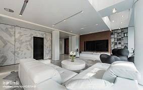 精美123平米現代別墅客廳欣賞圖片客廳