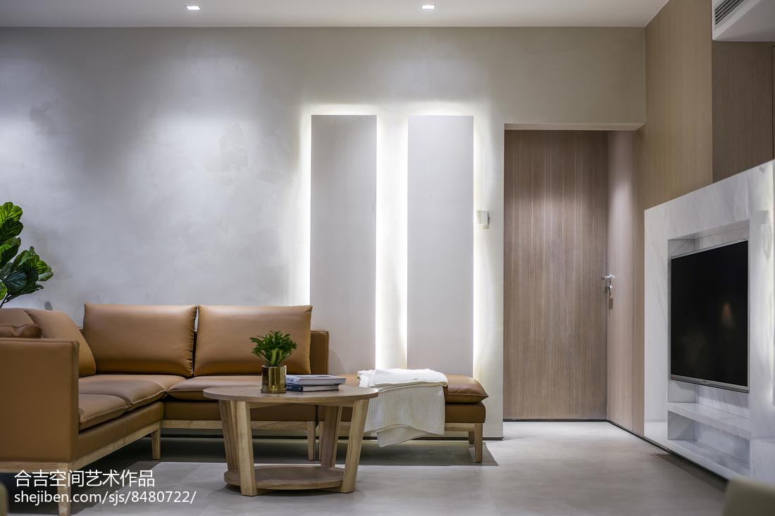 浪漫58平现代二居客厅装饰图片客厅现代简约客厅设计图片赏析