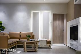 浪漫58平现代二居客厅装饰图片客厅