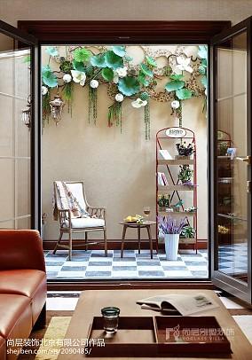 精美135平米中式别墅花园装修欣赏图