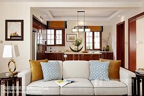 热门别墅厨房中式装修设计效果图片