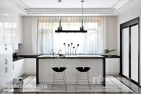 精美120平米中式别墅厨房装修设计效果图片欣赏别墅豪宅中式现代家装装修案例效果图