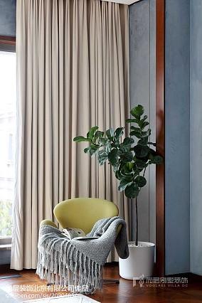 平米中式别墅卧室装饰图片家装装修案例效果图