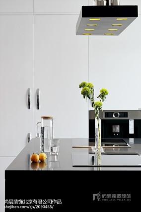 精选别墅厨房中式效果图片大全家装装修案例效果图