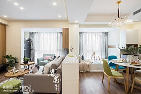 2018精选面积85平小户型客厅北欧效果图