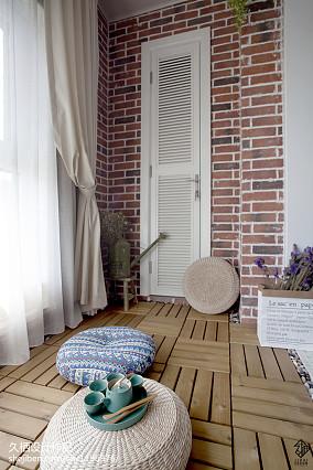 北欧三居阳台装修效果图片欣赏